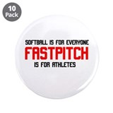 "FastPitch 3.5"" Button (10 pack)"