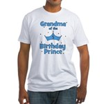Grandma of the 5th Birthday P Fitted T-Shirt