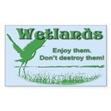 Wetland Rectangle Decal