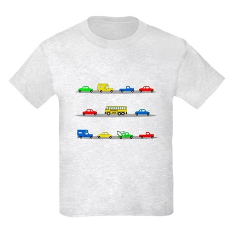 Cars! Cars! Cars! Kids Light T-Shirt