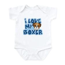 I Love my Boxer Onesie