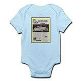 &quot;1938 Hudson Ad&quot; Onesie