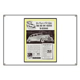 &quot;1938 Hudson Ad&quot; Banner