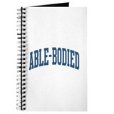 Able-Bodied Nickname Collegiate Style Journal