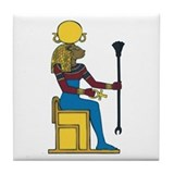 Goddess Sekhmet Tile Coaster