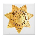 Yuma County Sheriff Tile Coaster