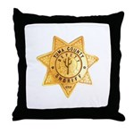 Yuma County Sheriff Throw Pillow