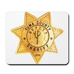 Yuma County Sheriff Mousepad
