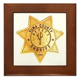 Yuma County Sheriff Framed Tile