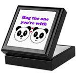 HUG THE ONE YOU'RE WITH Keepsake Box