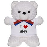 I Love riley Teddy Bear
