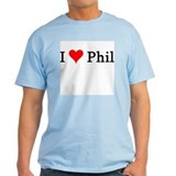 I Love Phil Ash Grey T-Shirt