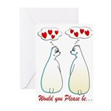 BE MY VALENTINE Greeting Cards (Pk of 20)