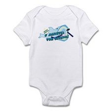shark bite penalty Infant Bodysuit