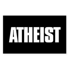 Atheist Rectangle Sticker 10 pk)