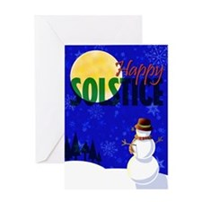 Happy Solstice Greeting Card