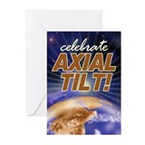 Axial Tilt Greeting Cards (Pk of 10)
