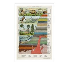 Geology and Evolution Postcards (Package of 8)