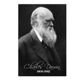 Charles Darwin Postcards (Package of 8)