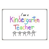 Kindergarten Teacher Banner