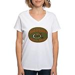 Eight Ball Question Women's V-Neck T-Shirt