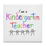 Kindergarten Teacher Tile Coaster