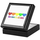Love Comes in All Colors Keepsake Box