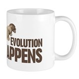 Evolution Happens Mug