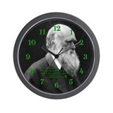 Charles Darwin Quote Wall Clock