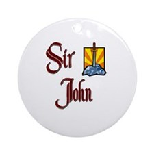 Sir John Ornament (Round)