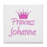 Princess Johanna Tile Coaster