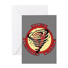 Storm Tornado Chaser Greeting Card
