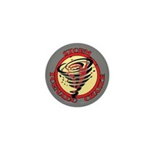 Storm Tornado Chaser Mini Button