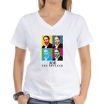 Joe The Speaker Women's V-Neck T-Shirt