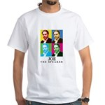 Joe The Speaker White T-Shirt