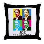 Joe The Speaker Throw Pillow