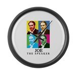 Joe The Speaker Large Wall Clock