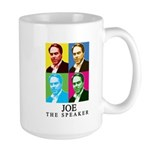Joe The Speaker Large Mug