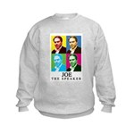 Joe The Speaker Kids Sweatshirt