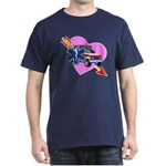 EMS Care Heart Dark T-Shirt