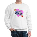EMS Care Heart Sweatshirt