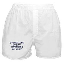 Stonemason by day Boxer Shorts