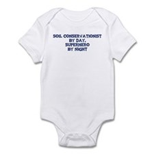 Soil Conservationist by day Infant Bodysuit