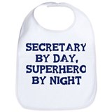 Secretary by day Bib