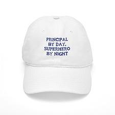 Principal by day Baseball Cap