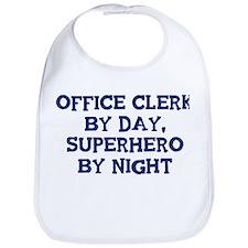 Office Clerk by day Bib