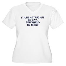 Flight Attendant by day T-Shirt
