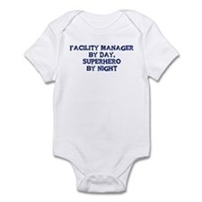 Facility Manager by day Infant Bodysuit