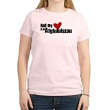 Half my heart is in Afganista T-Shirt
