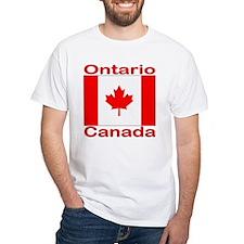 Ontario Flag Canada Shirt